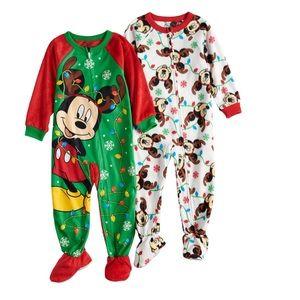 Mickey Mouse Christmas Pajamas 2T